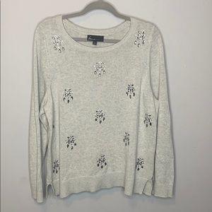 Lane Bryant   Jeweled sweater